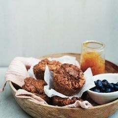 Sweet Potato + Five Spice Muffins