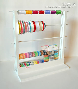 DIY storage project .  Free tutorial with pictures on how to make a hook or rack in under 120 minutes by constructing with paint, wood, and wood glue. How To posted by Betty J.  in the Home + DIY section Difficulty: Simple. Cost: Cheap. Steps: 1
