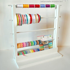 Diy Storage For Ribbons And Washi Tapes