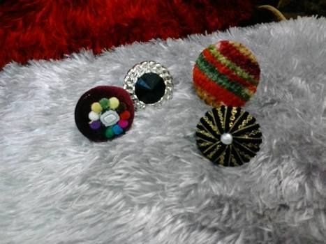 Buttonx  .  Make a button ring in under 29 minutes by jewelrymaking with buttons. Inspired by gifts, people, and clothes & accessories. Creation posted by zish.kayani.9.  in the Jewelry section Difficulty: Simple. Cost: 3/5.