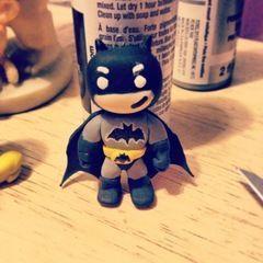 Batman Polymer Clay