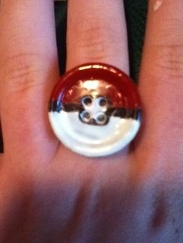 .  Make a button ring Inspired by pokemon and costumes & cosplay. Version posted by RainxFlower24. Difficulty: Simple. Cost: No cost.