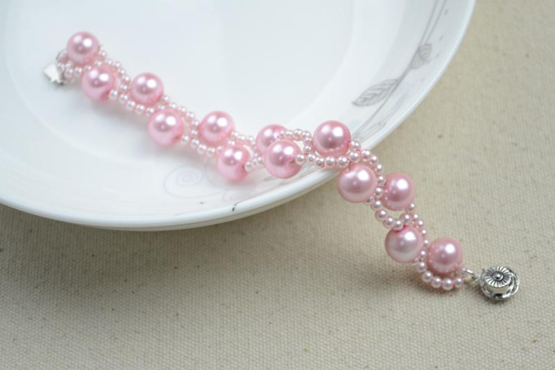 Diy Bracelets With Beads Wavy Bracelet Crafts For Kids 183 How To Make A Pearl Bracelet 183 Jewelry