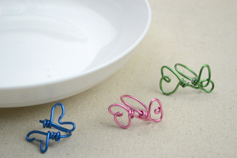 Wire Jewelry Diy How To Make Rings In Butterfly Pattern · How To ...