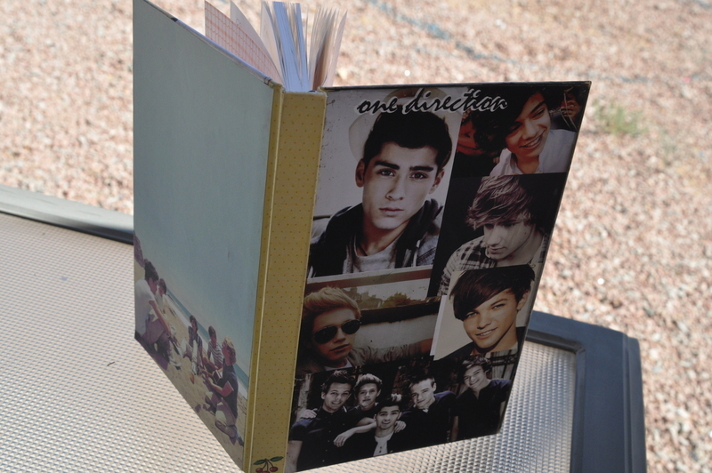 Fabulous One Direction Diy Journal 183 How To Decorate An