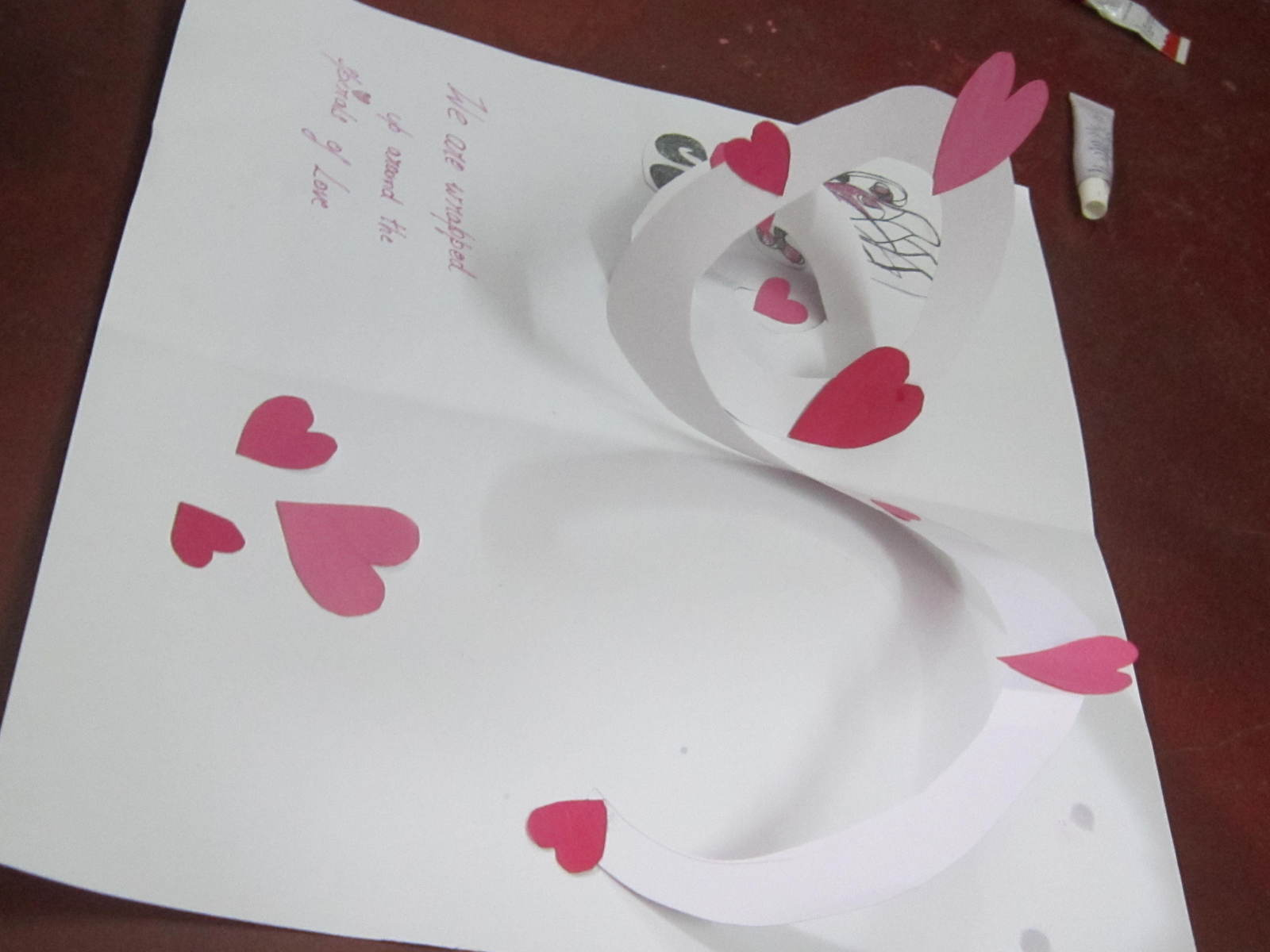 Cute Homemade Valentine Card 333 Its Full Of Hearts How To Make