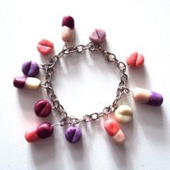 Clay Pills Bracelet