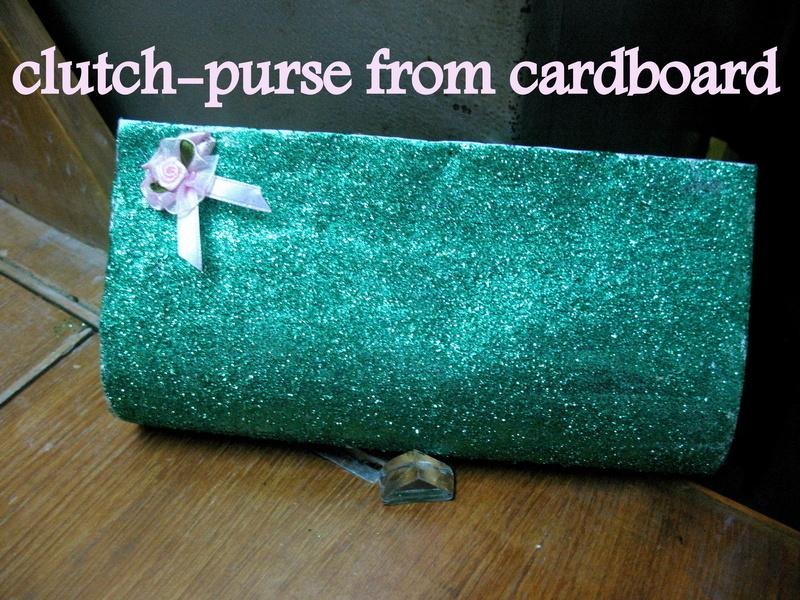 Clutch Purse From Cardboard!!!! · How To Make A Recycled Clutch