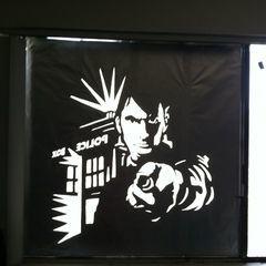 Window Foil Art Work
