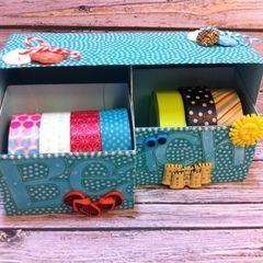Beachy Keen Washi Tape Storage Box