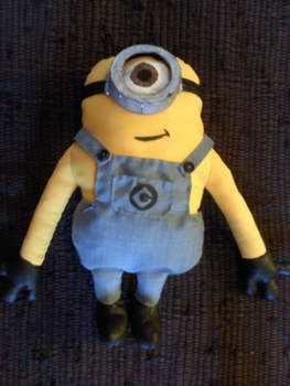 Minions are back and they are crazier than ever .  Make a food plushie in under 180 minutes by sewing with fabric, buttons, and stuffing. Inspired by domo kun, domo kun, and domo kun. Creation posted by Dada M.  in the Sewing section Difficulty: Easy. Cost: Cheap.