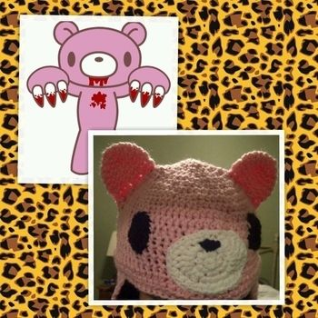 Super cute and easy to make.but of course it will take some time to complete. .  Make an animal hat by crocheting with scissors, yarn, and yarn. Inspired by bears. Creation posted by NEONpanda.  in the Yarncraft section Difficulty: 4/5. Cost: Cheap.