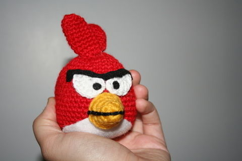 Angry Birds Red Cardinal 183 A Bird Plushie 183 Yarncraft On Cut Out Keep