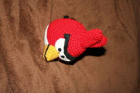 Yes, another one on co+k ! .  Make a bird plushie in under 105 minutes by yarncrafting, crocheting, and amigurumi with crochet hook, hot glue gun, and hot glue gun. Inspired by gifts, birds, and kawaii. Creation posted by Nancy!.  in the Yarncraft section Difficulty: 3/5. Cost: Absolutley free.
