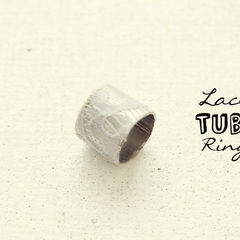 Lace Tube Ring