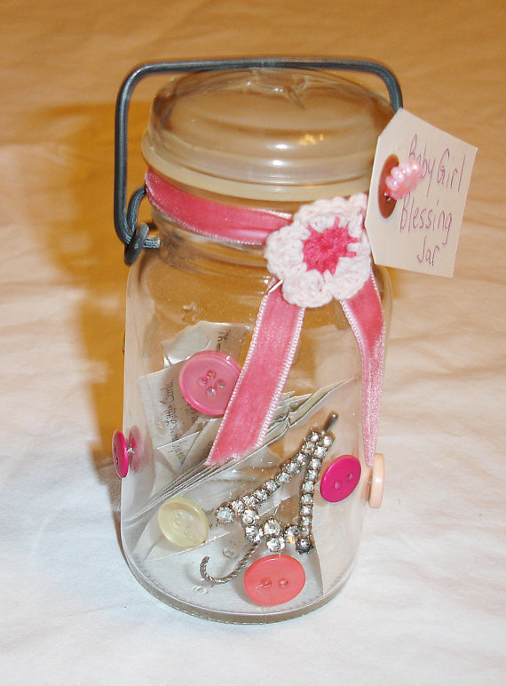 Baby Girl Blessing Jar How To Decorate A Bottle Jar Art On Cut Out Keep