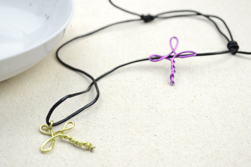 Metal jewelry ideas create a cross necklace for girls how to make metal jewelry ideas create a cross necklace for girls aloadofball Gallery