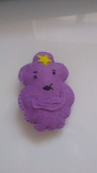 Oh my glob you guys! .  Make a character plushie in under 30 minutes by sewing and hand sewing with felt, felt, and thread. Inspired by geeky, kawaii, and adventure time. Creation posted by iscrafte.  in the Needlework section Difficulty: Easy. Cost: No cost.
