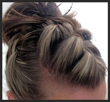 Wear it for any occasion!  .  Free tutorial with pictures on how to style a French braid in under 2 minutes by applying makeup, hairstyling, and braiding with hair band and hair grips. How To posted by Shelley8123.  in the Beauty section Difficulty: Easy. Cost: No cost. Steps: 1