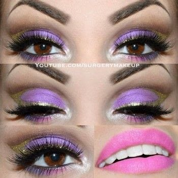 Arabic Princess make up .  Free tutorial with pictures on how to creat an Arabic eye makeup look in under 25 minutes by applying makeup with lipstick, eye lashes, and eyeshadow. Inspired by purple. How To posted by Lelly M.  in the Beauty section Difficulty: 4/5. Cost: 3/5. Steps: 9