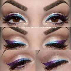Simple Ombre Eyeliner Make Up