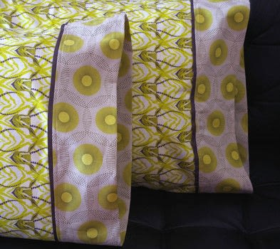 Make a pillowcase. .  Free tutorial with pictures on how to make a pillow in under 30 minutes by sewing and machine sewing with cotton fabric, cotton fabric, and grosgrain ribbon. Inspired by bedroom. How To posted by Heather M. Love.  in the Sewing section Difficulty: Simple. Cost: 3/5. Steps: 8
