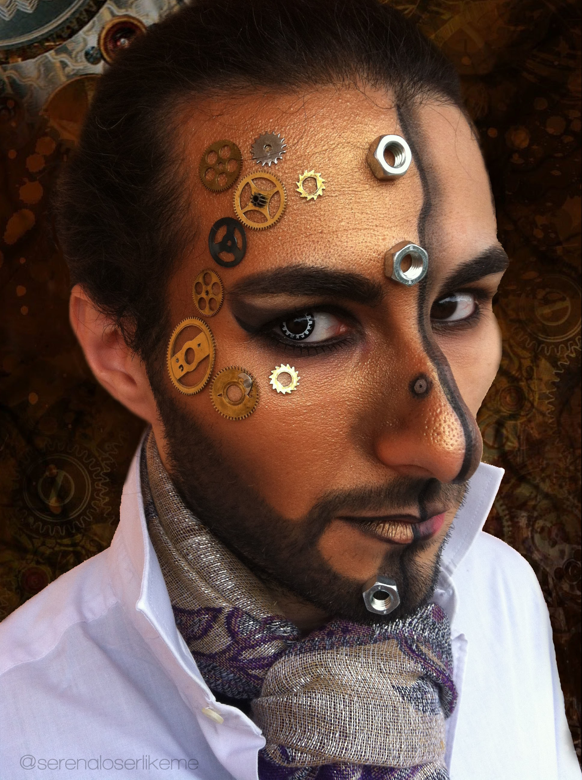 Steampunk Hero Makeup Tutorial 183 How To Create A Face