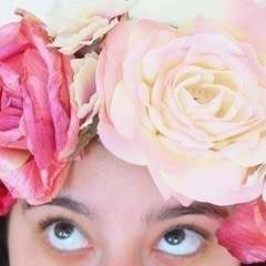 Spring Rose Flower Crown