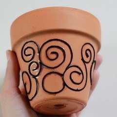 Flowerpot Upcycle Diy