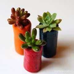 Cork Flower Pots