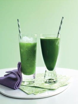 Green Drinks .  Free tutorial with pictures on how to mix a green smoothie in under 15 minutes by mixing drinks with apples, kale, and mint leaves. Recipe posted by Ryland Peters & Small.  in the Recipes section Difficulty: Simple. Cost: Cheap. Steps: 1