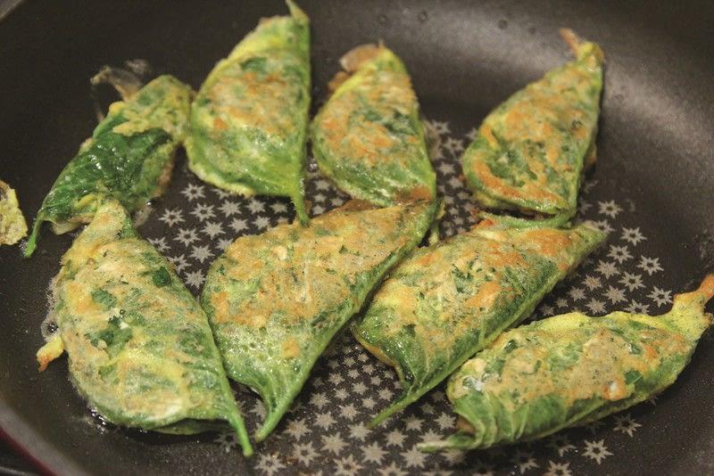 perilla leaf pancakes  kkaennip jeon   u00b7 extract from