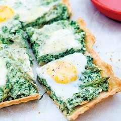 Asparagus Tart With Creamy Ricotta