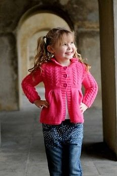Childs Jacket .  Free tutorial with pictures on how to make a cardigan in 8 steps by yarncrafting and knitting with knitting needles, dk yarn, and knitting needles. How To posted by Jody Long.  in the Yarncraft section Difficulty: 3/5. Cost: No cost.