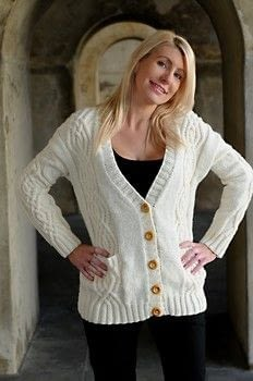 .  Free tutorial with pictures on how to stitch a knit or crochet sweaters in 6 steps by yarncrafting and knitting with needles, cable needle, and  buttons. How To posted by Jody Long.  in the Yarncraft section Difficulty: Simple. Cost: No cost.