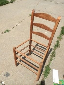 Historical Milk Paint .  Free tutorial with pictures on how to make a chair in under 180 minutes by decorating with paint brush, water, and sand paper. How To posted by PinkWeeds.  in the Home + DIY section Difficulty: 3/5. Cost: No cost. Steps: 5