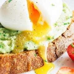 Avocado & Soft Boiled Egg Toasts