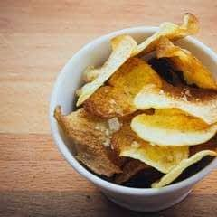 Homemade Baked Potato Chips