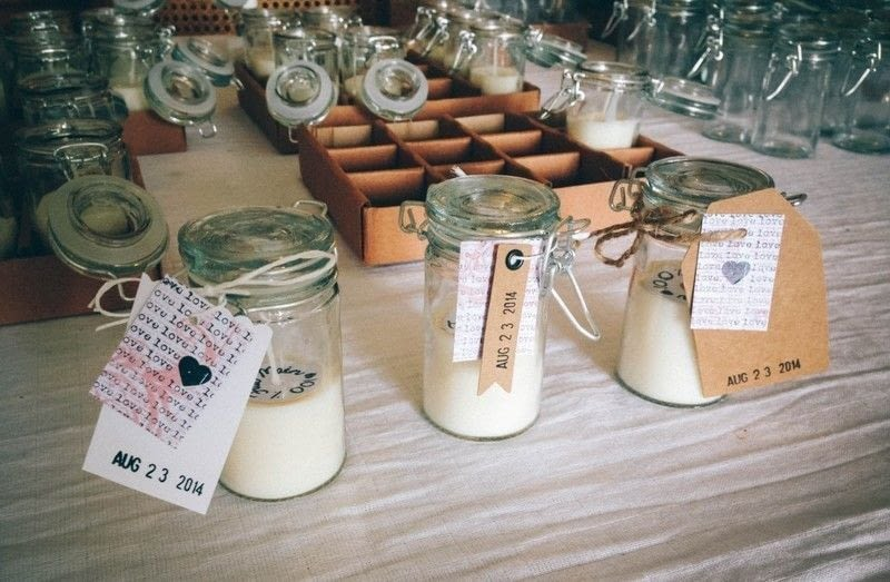 Cute Wedding Gift Ideas For Guests : Easy Diy Candles ? How To Make A Candle ? Home + DIY on Cut Out ...