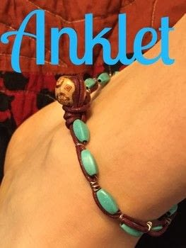 Make a wrapped bracelet or Anklet .  Free tutorial with pictures on how to make a braided cord bracelet in under 120 minutes by weaving, wireworking, and jewelrymaking with wire, string, and beads. How To posted by Kinhime Dragon.  in the Jewelry section Difficulty: 4/5. Cost: Cheap. Steps: 6