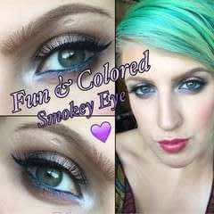 Fun & Colored Smokey Eye
