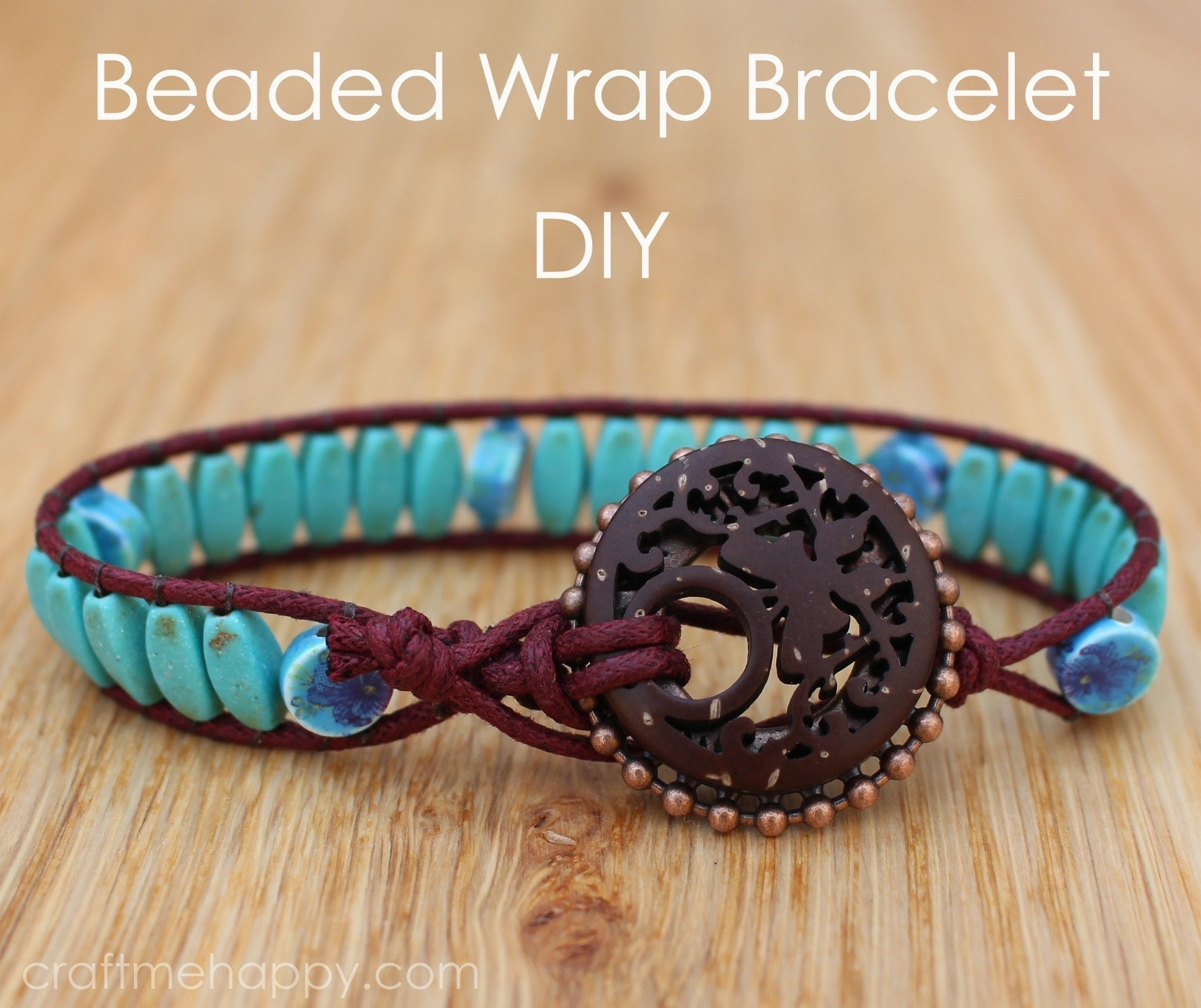 Watch How to Make Beaded Bracelets video