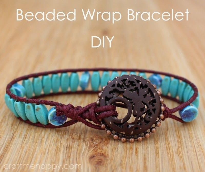 woven leather bracelet instructions