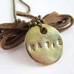 MakersKit: Stamped Metal Necklace