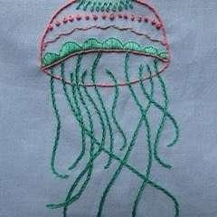 Free Embroidery Pattern: My Jellyfish