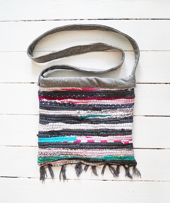 Rag Rug Bag · How To Make A Recycled