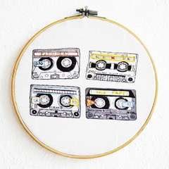 Illustrations With Embroidery