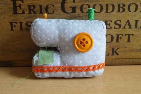 A mini softie sewing machine. .  Free tutorial with pictures on how to make a gadget plushie in under 150 minutes by sewing with cotton fabric, lace, and ribbon. How To posted by Maria P.  in the Needlework section Difficulty: Simple. Cost: Cheap. Steps: 5