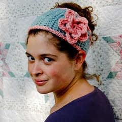 Tapered Flower Headband