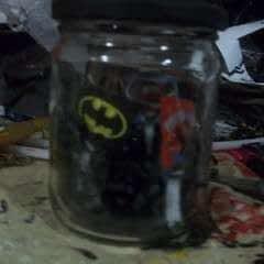 Superheroes In A Jar